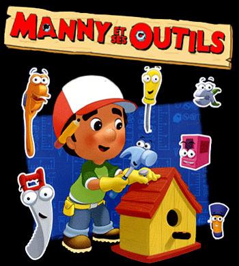 Handy Manny - Main title - Manny et ses Outils - Générique