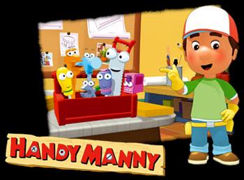 Handy Manny - VO main title - Manny et ses Outils - Générique VO