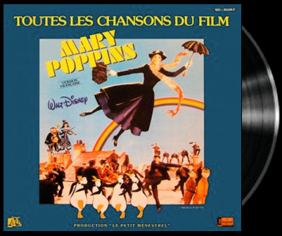 Mary Poppins - Let's go fly a kite - Mary Poppins - Le beau cerf-volant