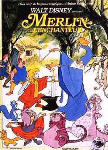 The Sword in the Stone - C'est Ce Qui Fait Que Tout Tourne Rond  - Merlin l'Enchanteur - C'est Ce Qui Fait Que Tout Tourne Rond