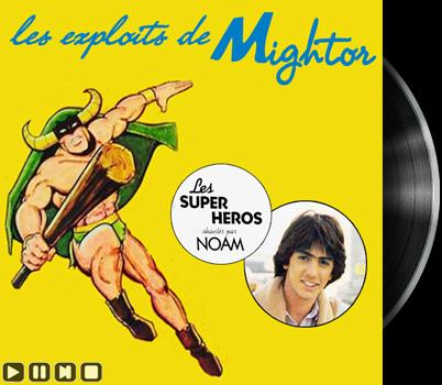 The Mighty Mightor - Main title - Mightor - Générique chanté par Noam Kaniel
