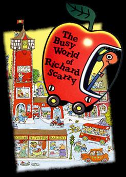 Busy world of Richard Scarry (the) - English main title - Monde irrésistible de Richard Scarry (le) - Générique anglais