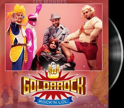Mondes engloutis (les) - Goldarock's cover - Mondes engloutis (les) - Reprise Goldarock