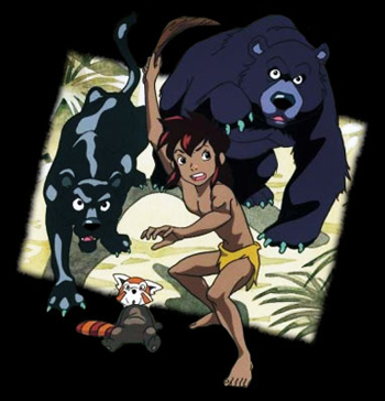 Jungle Book Shônen Mowgli - Main title - Livre de la Jungle (le) - Générique