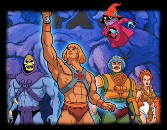 He-Man and the Masters of the Universe - Latin TV main title - Ma�tres de l'Univers (les) -    G�n�rique latino TV
