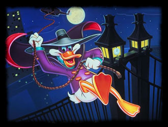 Darkwing Duck - Italian main title - Myster Mask - Générique italien