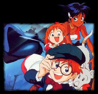 Fushigi no umi no Nadia - Japanese ending size TV - Nadia, Le secret de l'eau bleue - Générique de fin  japonais TV