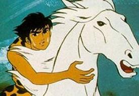 Genshi shônen Ryû - Main title - Nolan enfant des cavernes