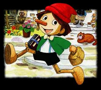 Pinocchio yori : Piccolino no bôken - Japanese ending - Pinocchio (1976) - Générique de fin japonais