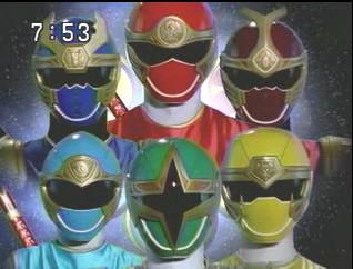Power Rangers Ninja Storm / Ninpû Sentai Harikenjâ - Japanese ending - Power Rangers - Générique de fin japonais - Saison 11 - Force Cyclone