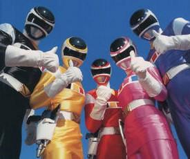 Power Rangers in Space - American main title - Power Rangers - Générique américain - Saison .6 - Dans l'espace