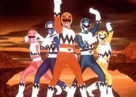 Power Rangers Lost Galaxy - Power Rangers - Générique - Saison .7 - L'autre galaxie