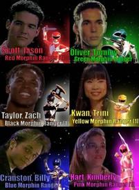Mighty Morphin Power Rangers - Power Rangers - Générique - Saison .1,2,3 - Version TV