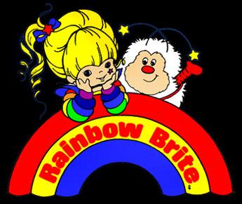 Mahô Shôjo Rainbow Brite - American ending - Blondine au Pays de l'Arc-en-Ciel - Générique de fin américain