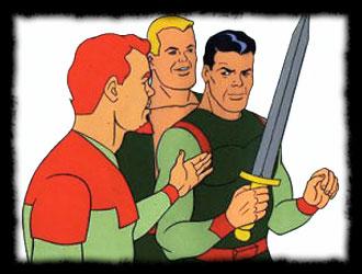 Rocket Robin Hood - Robin fusée - Générique québécois