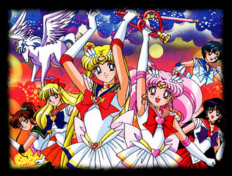 Bish�jo senshi Sailor Moon - American main title - Sailor Moon - G�n�rique am�ricain