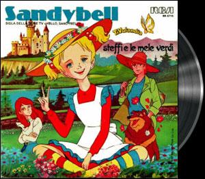 Hello, Sandy Bell ! - 1st Italian opening - Sandy Jonquille - Générique italien 1983