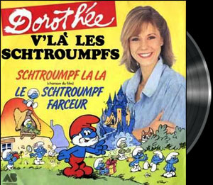 The Smurfs - 2nd French main title - Schtroumpfs (les) -  G�n�rique n�2