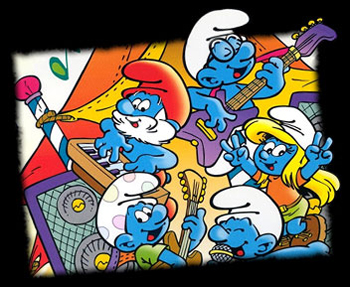 The Smurfs - 5th French main title - Schtroumpfs (les) -  Générique n°5