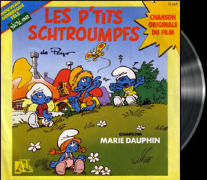 The Smurfs - 4th French main title - Schtroumpfs (les) -  Générique n°4