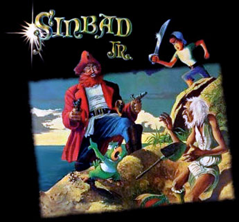 Sinbad Jr and his magic belt - Japanese main title - Sinbad et sa ceinture magique - Générique Japonais