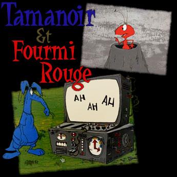 Dessins anim s tamanoir et fourmi rouge g n rique the ant and the aardvark main title - Dessin anime de la panthere rose et ses amis ...