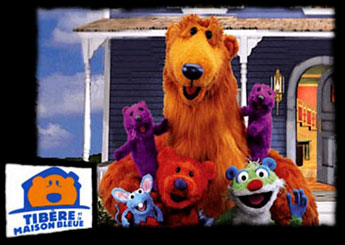 Bear in the Big Blue House - Opening - Tibère et la Grande Maison Bleue - Générique de début