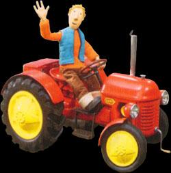 Dessins anim s petit tracteur rouge le le petit tracteur rouge - Tom le tracteur dessin anime ...