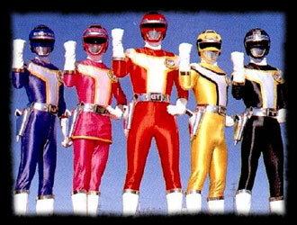 Kôsoku Sentai Turbo Ranger - Main title - Turbo Rangers - Générique