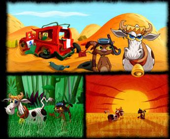 La Vache, le Chat et l'Océan - Vache, le Chat et l'Océan (la) - Générique de fin