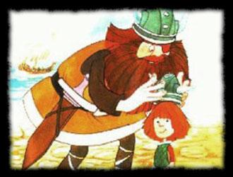 Chiisana Viking Vick / Wickie und die starken Männer - Vic le Viking - Générique de début italien