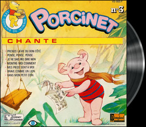 Welcome to Pooh Corner - Piglet's french song - Winnie l'ourson (Les aventures de) - Chanson de Porcinet