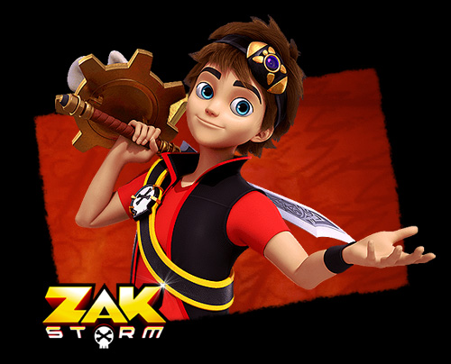 Zak Storm, super Pirate - Italian Main title - Zak Storm, super Pirate - Générique italien