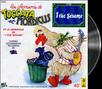 Sesame Street - 1, rue Sésame - La chanson de Toccata