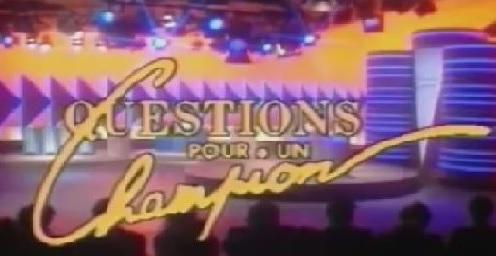 Questions pour un champion - Questions pour un champion - 1988 - Générique de fin