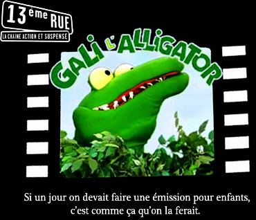 Gali l'Alligator - Main title - Gali l'Alligator - Générique