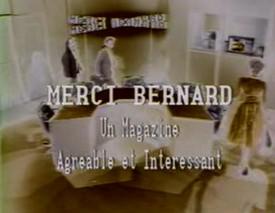 Merci Bernard - Merci Bernard