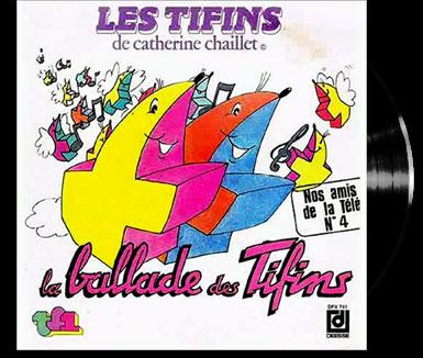 Tifins 2 (Les) - La ballade des Tifins -  - Tifins 1979 (les) - La ballade des Tifins