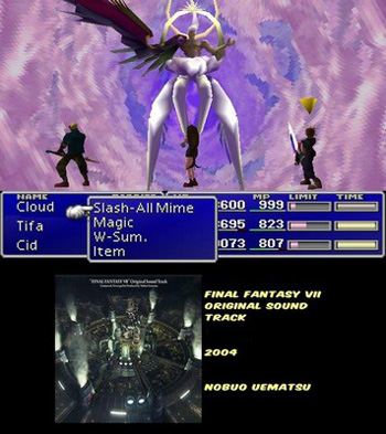 One-Winged Angel - Final Batlle Theme - One-Winged Angel