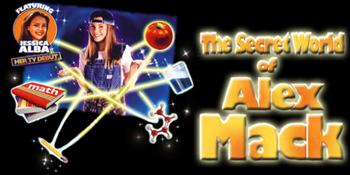 Secret World of Alex Mack (the) - VO Main title - Incroyables pouvoirs d'Alex (les) - Générique VO