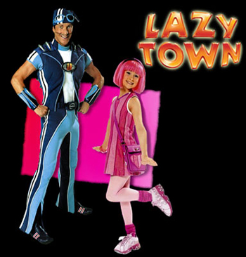 Lazytown - Main title - Bienvenue à Lazytown - Générique