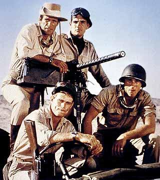 Rat Patrol (The) - Main title - Commando du désert / Les rats du désert - Générique