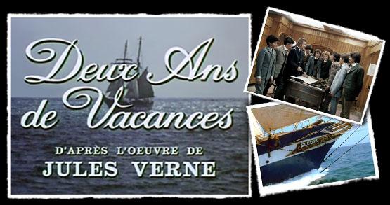Deux ans de Vacances - Zwei Jahre Ferien - Main title - Deux ans de Vacances - Thème