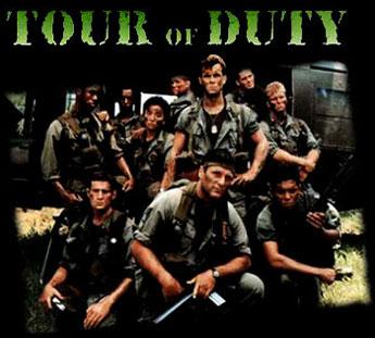 Tour of duty - Main title - Enfer du devoir (l') - Générique