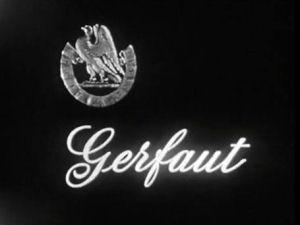 Gerfaut (1966) - End title - Gerfaut (1966) - Générique de fin