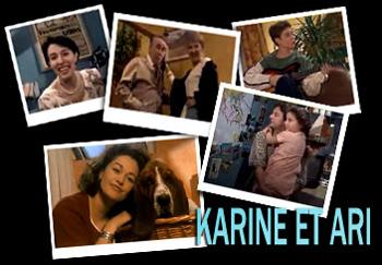 Karine et Ari - Main title - Karine et Ari - Générique