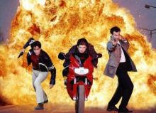 Motorrad-cops : Hart am limit (die) - Main title - Motocops - Générique