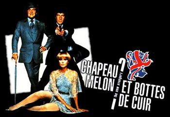 New Avengers (the) - 1977 main title - Chapeau melon et bottes de cuir - 1977 - Générique
