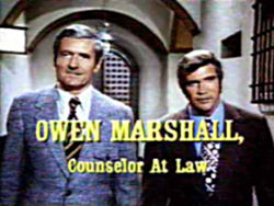 Owen Marshall: Counselor at Law - Main title - Owen Marshall: Counselor at Law - Générique
