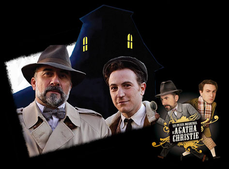 Petits meurtres d'Agatha Christie (les) - 1st season main title - Petits meurtres d'Agatha Christie (Les) - Générique 1ere Saison